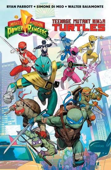 Mighty Morphin Power Rangers/Teenage Mutant Ninja Turtles - Ryan Parrott