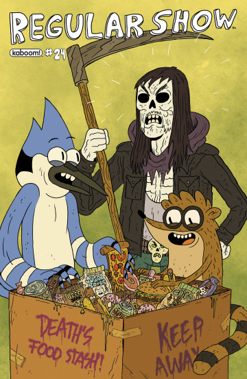 Regular Show - Mad Rupert