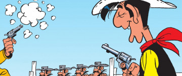 All about Lucky Luke! All about Europe's favorite cowboy!