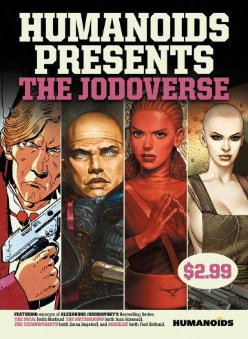 Humanoids Presents: The Jodoverse - Alexandro Jodorowsky