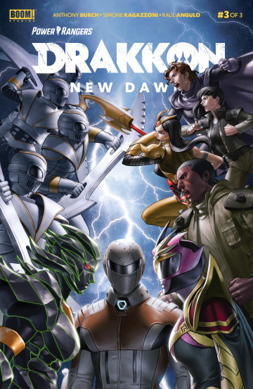 Power Rangers: Drakkon New Dawn - Anthony Burch