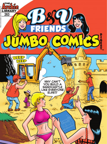 B&V Friends Jumbo Comics Digest - Archie Superstars