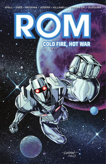 Rom: Cold Fire, Hot War - Chris Ryall, Christos Gage