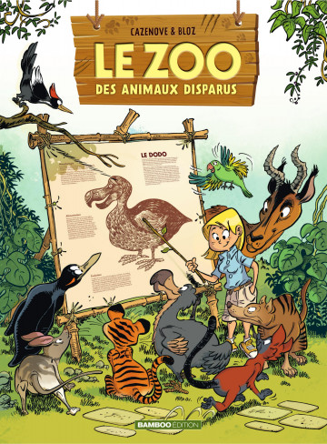 Le zoo des animaux disparus - Christophe Cazenove